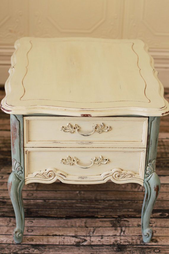 SOLD  French Provincial End Table by ChezMaison on Etsy, $225.00