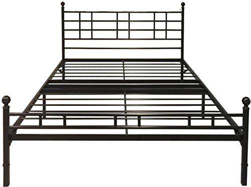 best price mattress model h easy set up steel platform bedsteel bed frame full black easy set up steel platform bedsteel bed frame is an all in one