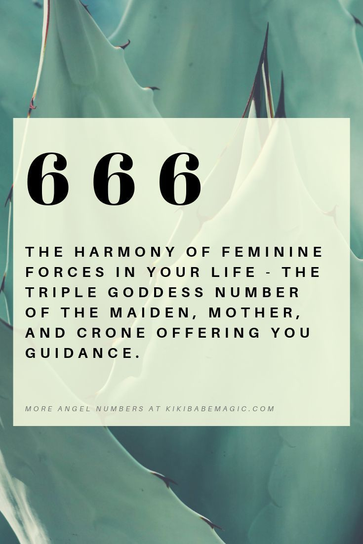 The meaning of numerology angel number 666 - What is
