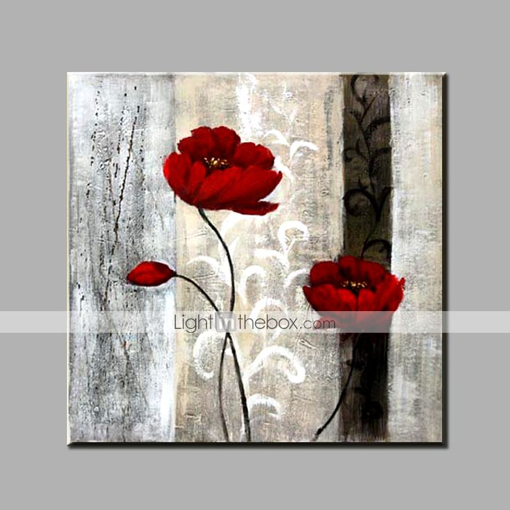 Les 25 meilleures id es de la cat gorie fleurs de peinture l 39 huile sur - Acheter tableau peinture ...