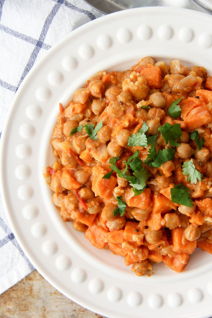 One Pot Coconut Chickpea Dinner