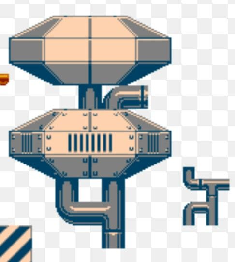 Space base pipes sprite pixelart