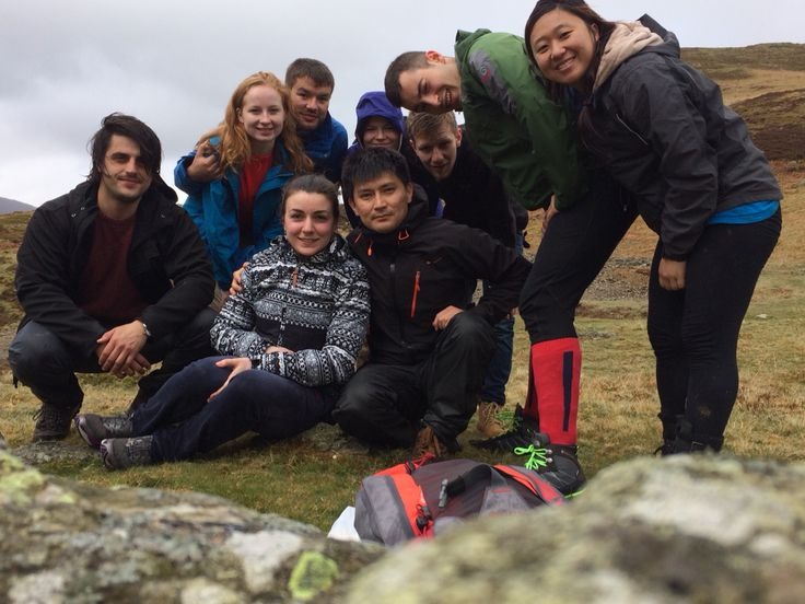 Hiking with these lovelies! Early May bank holiday 2015