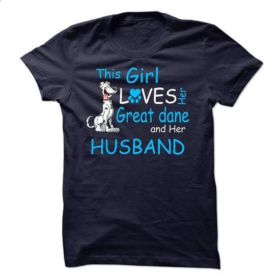 This Girl Loves Her Great dane - T01 - #tee shirt #purple hoodie. SIMILAR ITEMS => https://www.sunfrog.com/Pets/This-Girl-Loves-Her-Great-dane--T01.html?60505