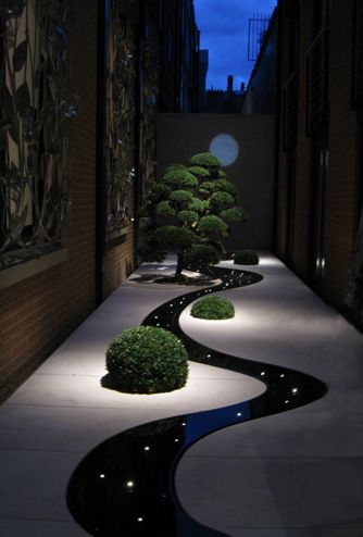 Andrew Ewing design for small garden.