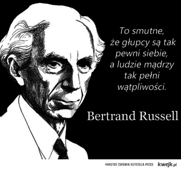 Bertrand Russell - cytat