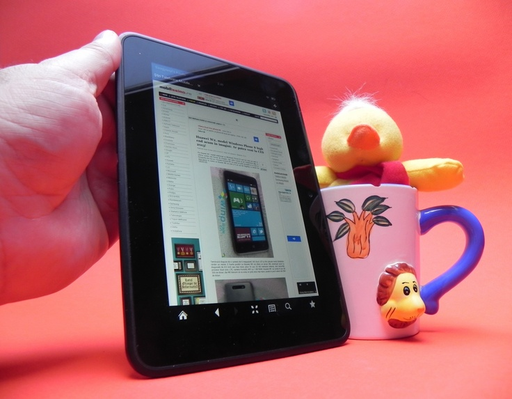 Review Amazon Kindle Fire HD