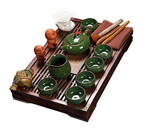 buy now   £39.56   teapot: 125ml,tea cup with lid:120ml,tea bowl: 120ml,tea cup:25mlPacking List:Teapot X 1,Cup X 6,Big Tea Cup X 1,Tea Tray X 1, Tea Strainer X 1,Tea Towel X  ...Read More