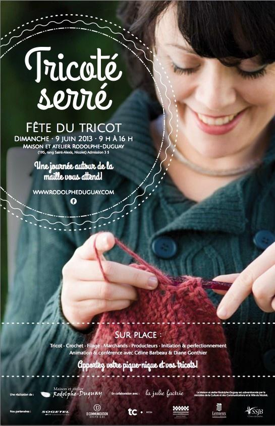 tricoté serré
