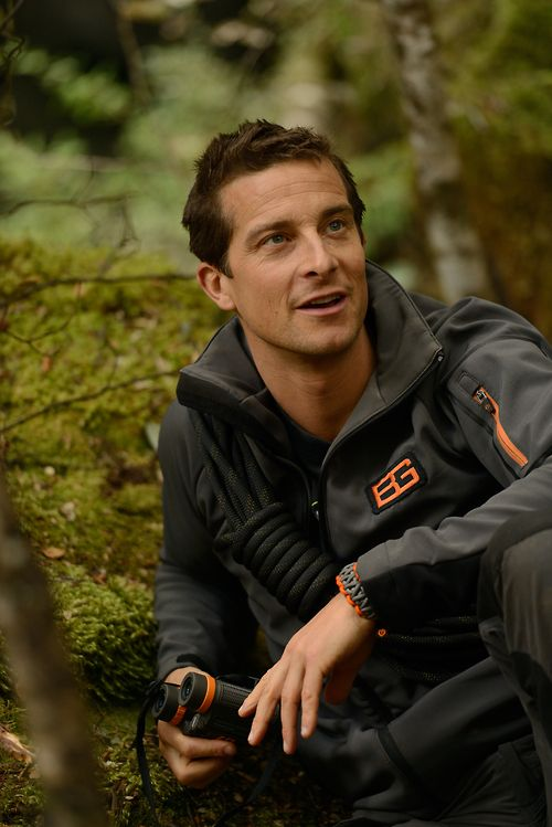Bear Grylls with his Craghoppers gear filming #GetOutAlive