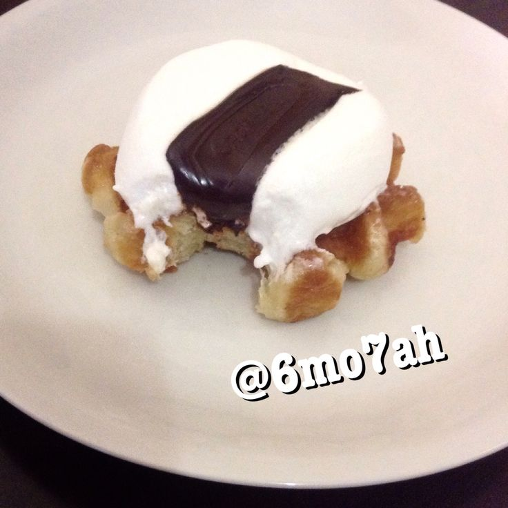 #Waffle #darkchocolate #chocolate