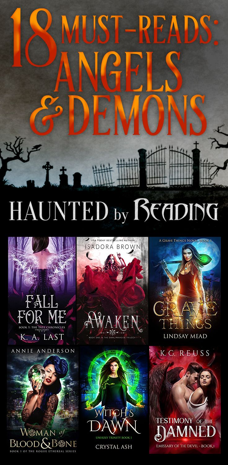 Get lost in urbanfantasy & paranormal romance with angels ...