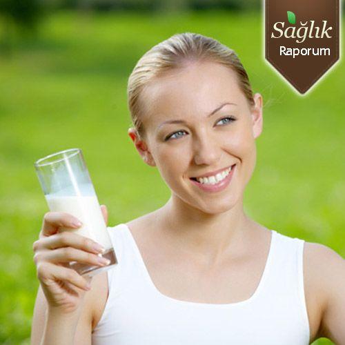 Yağlarınızı süt içerek azaltın!