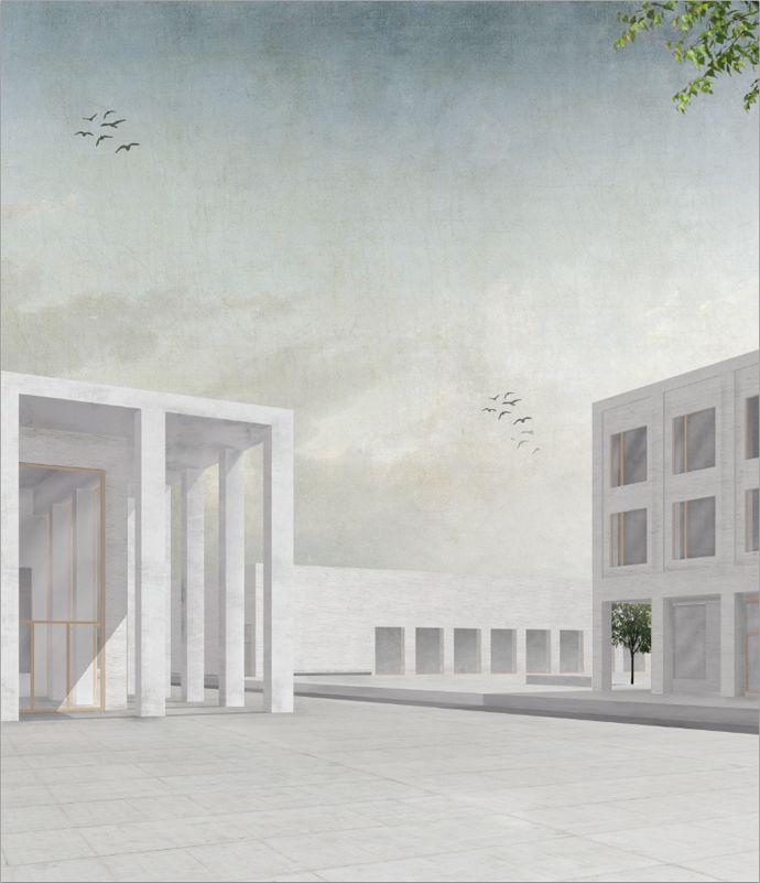 Amelie Barth | geschlämmtes Mauerwerk | Entwerfen und Gebäudelehre II | Bauhaus-Universität Weimar
