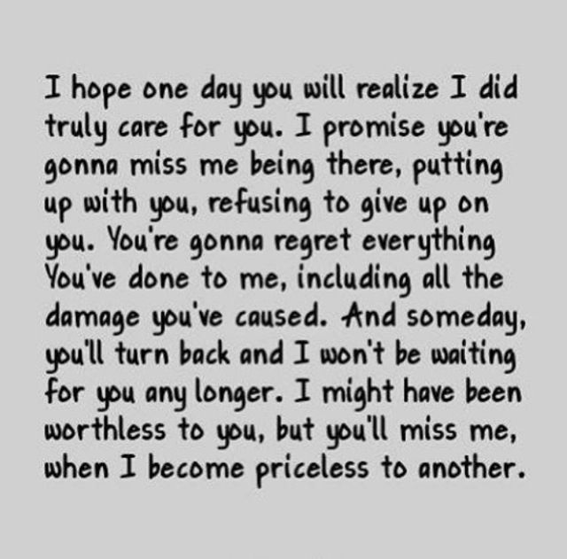 Youll Miss Me Quotes. QuotesGram