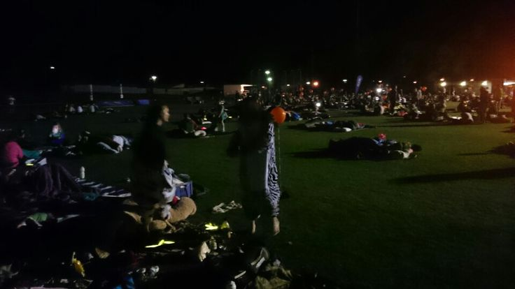 Sleeping out @ the Canberra Community Sleepout 2015