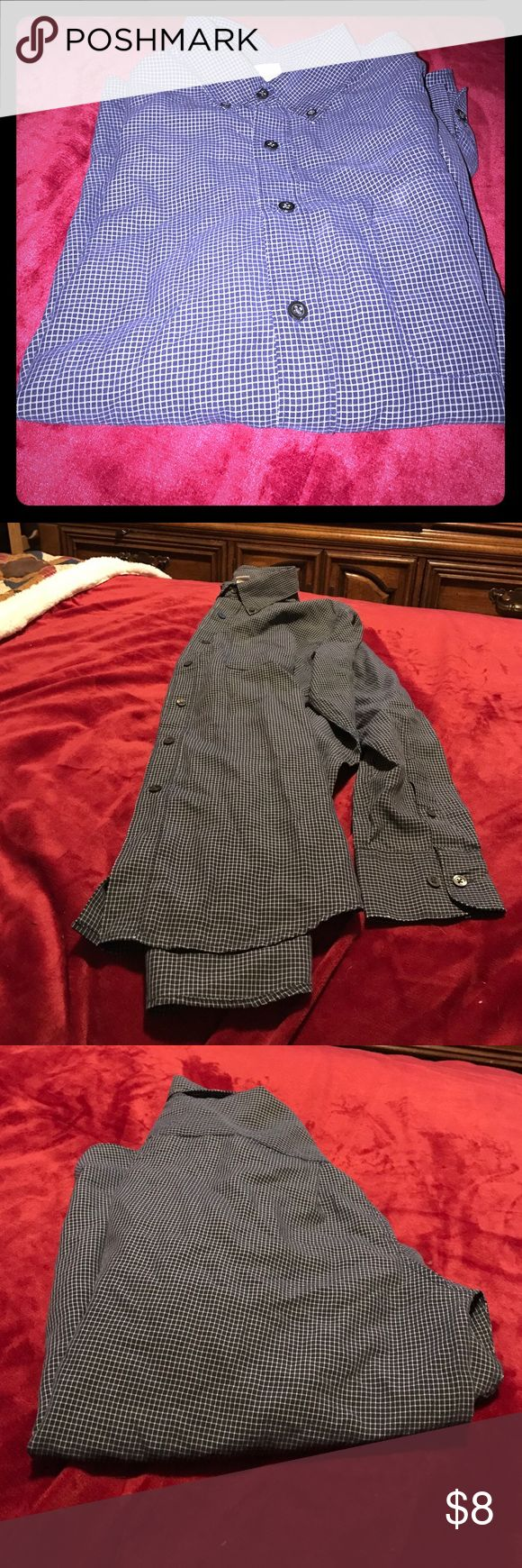 Great condition Men's dressy casual shirt. ❤ Nice shirt to dress up a bit. In great condition. Nice soft cotton. 😊 Merona Shirts Casual Button Down Shirts
