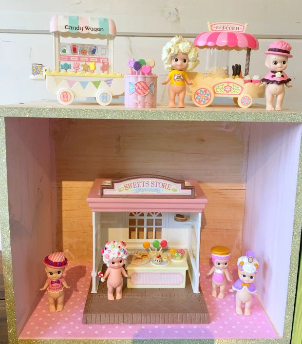 sonny angel - sylvanian families: Candy wagon / popcorn  Madeinmelody.com