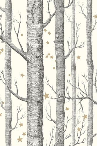 Cole Son - Whimsical Collection - Woods Stars - Natural