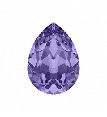 Tanzanite F (539) Грушевидный Кристалл для украшений 4320 Swarovski Elements.  Кристаллы для украшений (Fancy Stones) Swarovski Elements предлагают целый диапазон различных дополнительных возможностей и проектируют варианты, такие как манипуляция драгоценностей и тканей а так же во внутренней отделке.  4320 Грушеобразные Кристаллы для украшений Swarovski Elements производятся следующих размеров: 6x4mm, 8x6mm, 10x7mm, 14x10mm и 18x13mm