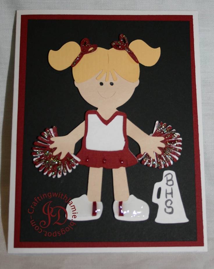 Everyday Paper Dolls - cheerleader