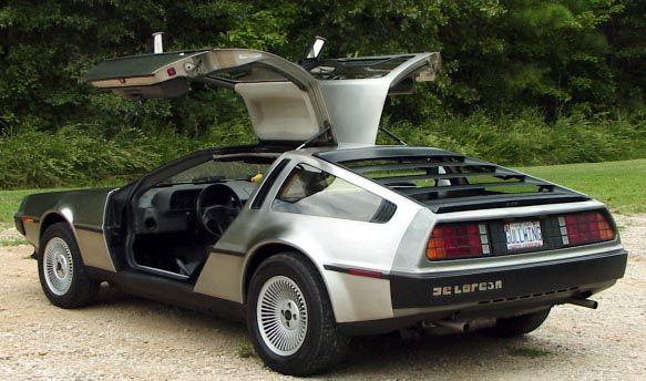 Back left - DeLorean DMC-12 — Wikipédia
