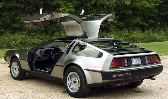 Back left - DeLorean DMC-12 — Wikipédia