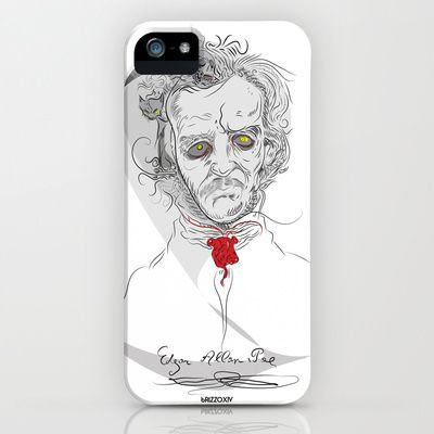 edgar iPhone & iPod Case by bRIZZO - $35.00