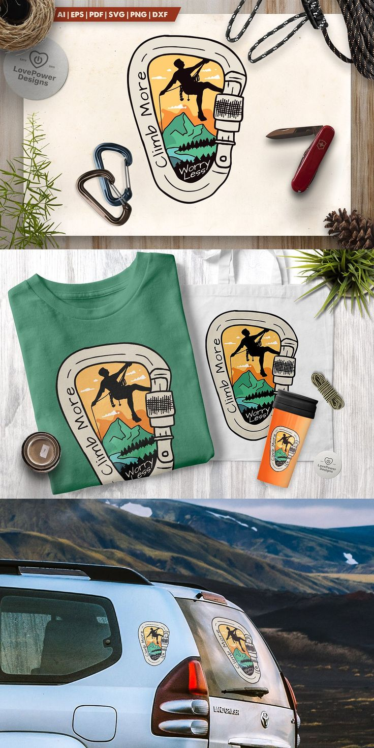 National Park Ranger Logo / Mountain Adventure Badge SVG