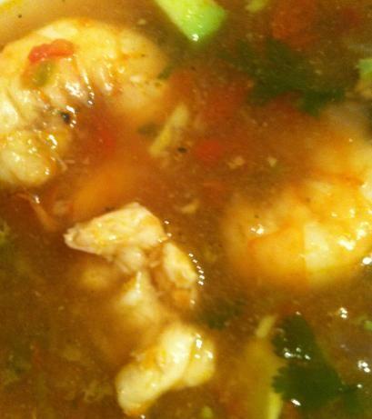Sopa De Mariscos (Mexican Seafood Soup)-- Um, drooling!