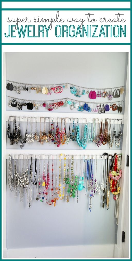 Simple Jewelry Organization from MichaelsMakers Sugar Bee Crafts