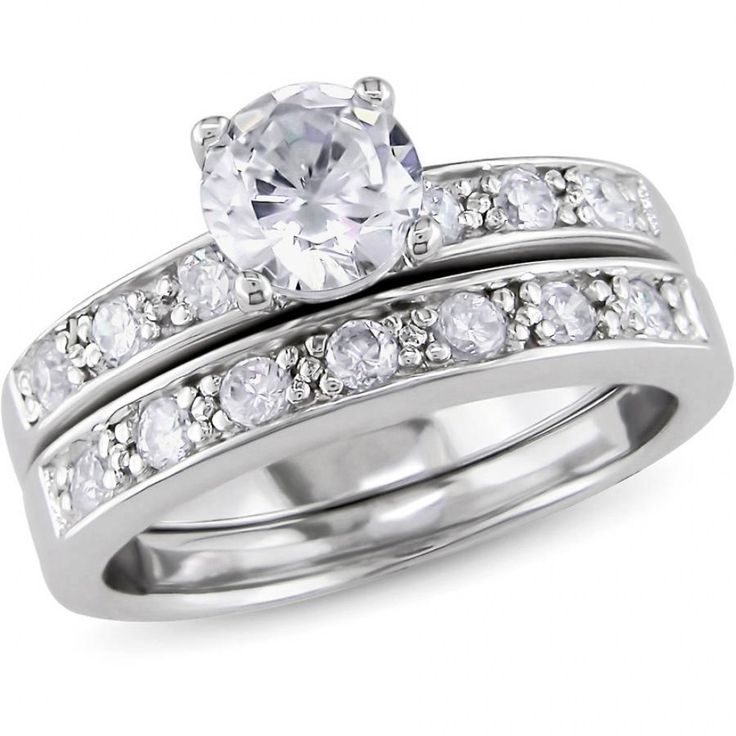 31 beautiful fake diamond wedding rings that look real wedding rings cubic zirconia - Cubic Zirconia Wedding Rings That Look Real