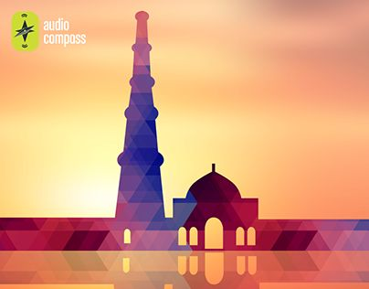 """Check out new work on my @Behance portfolio: """"AudioCompass _Qutub Minar Monument"""" http://be.net/gallery/33906122/AudioCompass-_Qutub-Minar-Monument"""