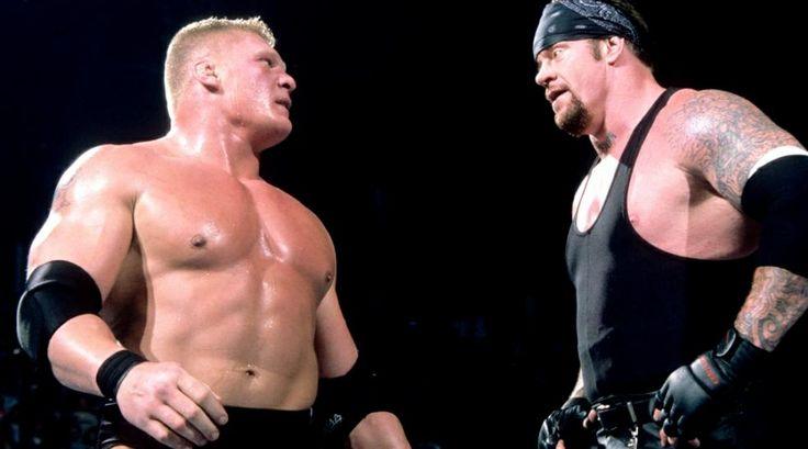 B Lesnar & Undertaker