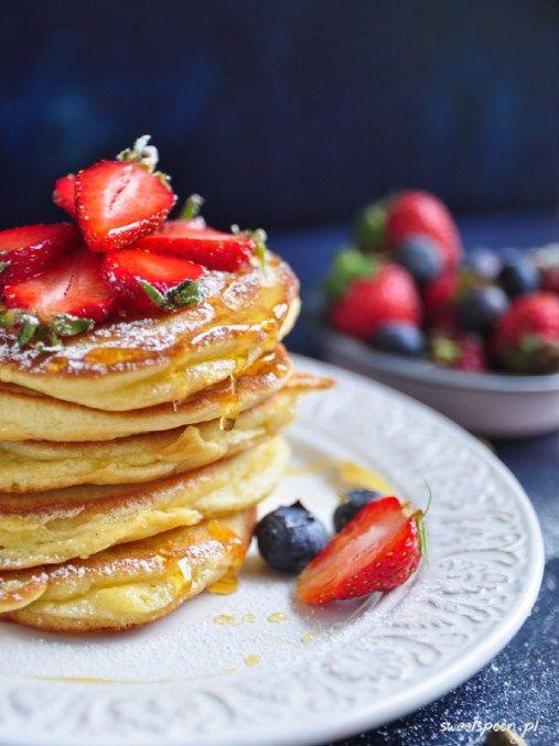 Cardamom cream cheese pancakes