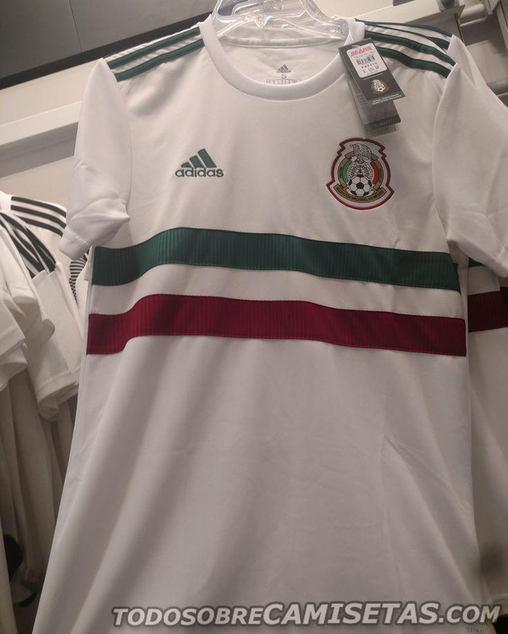 Camiseta visitante de Mexico Rusia 2018