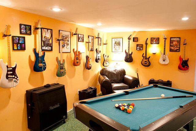 Game Room Chords Decor Wall Ideas