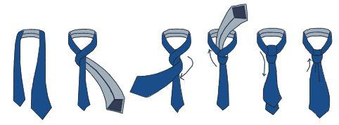 Как завязать галстук. Способы завязывания галстука. Узлы галстука