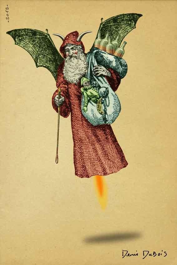 Denis Dubois - PHOTOGRAPHE GRAPHISTE: Satan Claus
