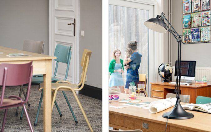 17 beste idee n over schoolstoelen op pinterest ouderwetse school open planken en gezellige - Volwassen slaapkamer idee ...