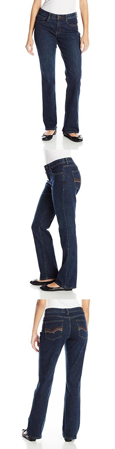 Lee Women's Comfort Fit Addison Barely Bootcut Jean, Luxe, 10