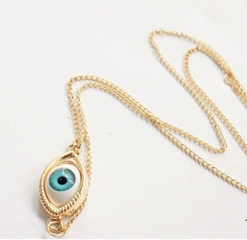 Chain length of about 54cm Eyes about 3cm width 1.5cm A day-to-day necklace