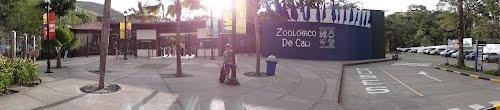 Panoramica del Ingreso al Zoologico