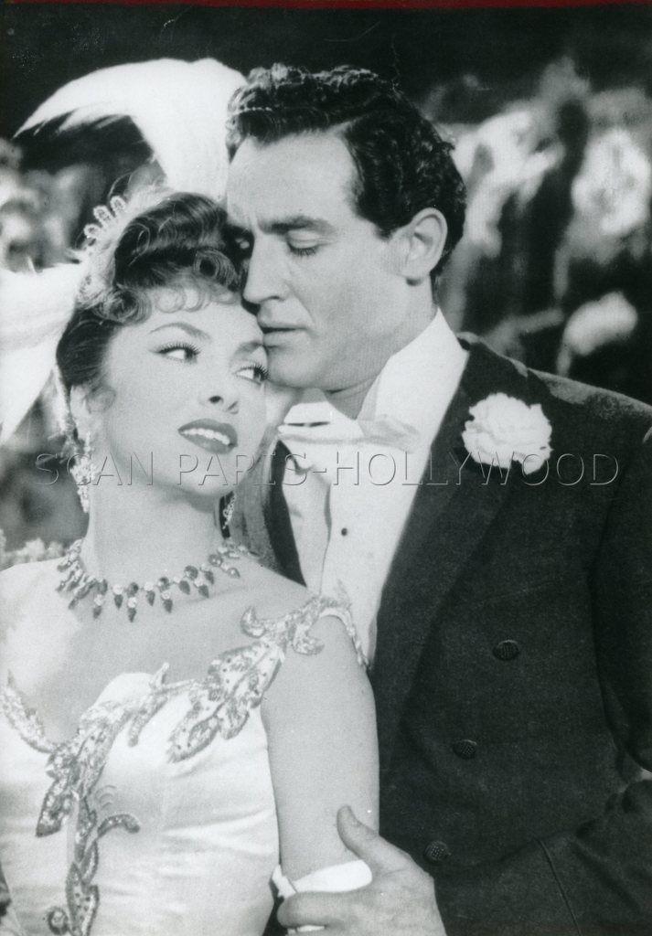 Gina Lollobrigida Vittorio Gassman LA Belle DES Belles 1955 Vintage Photo | eBay
