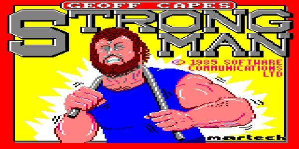 STRENGTH FIGHTER: Geoff Capes Strongman video game