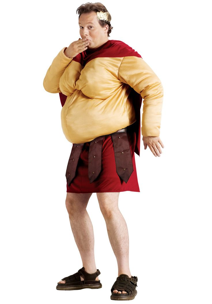 Fatty Fart-I-Cus Costume, Roman Style Fancy Dress - Funny at Escapade™ UK