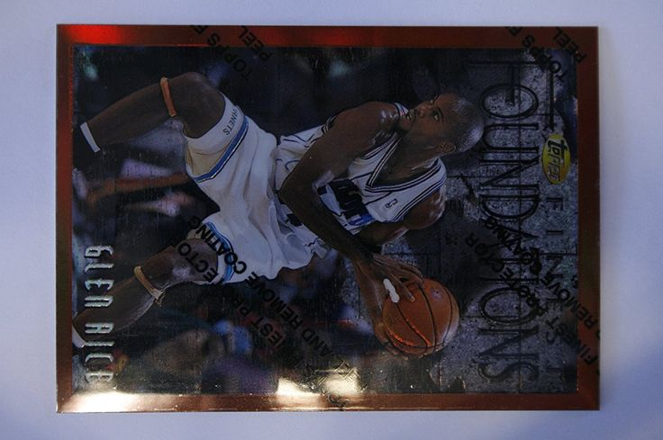 1996-97 Finest Refractors 238 Glen Rice >>> This is an Amazon Affiliate link. Click on the image for additional details.
