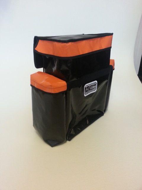 рюкзак на запасное колесо для перевозки мусора или грязных тросов и обуви