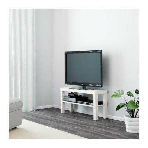 Ikea Lack Black Tv Unit Home Right Bench Stand
