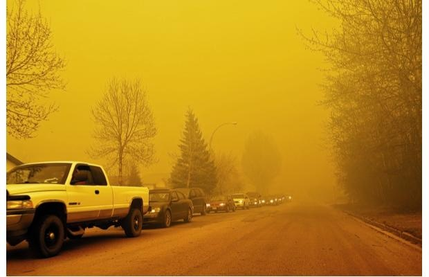 There were 552 households destroyed by the inferno that swept through Slave Lake in May 2011.